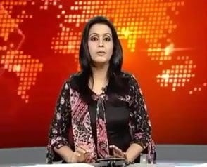 Pakistani News caster slip be advisable for tongue